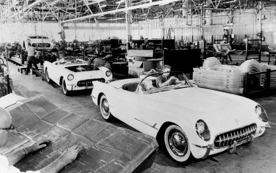 1953-chevrolet-corvette-assembly-line