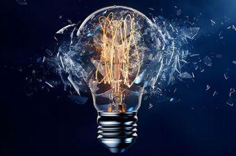 Disruption light bulb